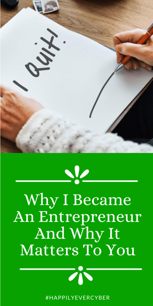 Why I Became An Entrepreneur And Why It Matters To You sandra estok cyber safety cyber security way 2 protect