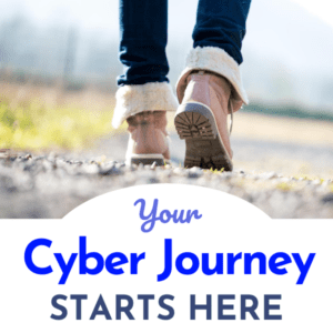 Your Cyber Journey Starts Here - Way2Protect - Sandra Estok - Happily Ever Cyber